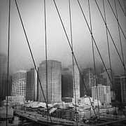 Brooklyn Bridge Print by Eli Maier
