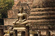 World Peace Art - Buddha at Sukhothai by Bob Christopher