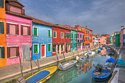 Peaceful Scene Art - Burano - Venice - Italy by Joana Kruse