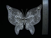 Hand Made Jewelry - Butterfly by Atelje Borej