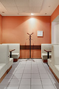 Coat Hanger Metal Prints - Cafe Dining Room Metal Print by Magomed Magomedagaev