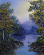 Landscapes Reliefs - Calm Waters by John Cocoris