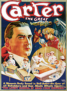 Magic Trick Framed Prints - Carter the Great Framed Print by Unknown