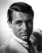 Tie Pin Framed Prints - Cary Grant Framed Print by Everett