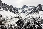 Chamonix Framed Prints - Chamonix resort in the French Alps Framed Print by Pierre Leclerc