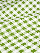 Checked Prints - Checked Tablecloth Print by Maria Toutoudaki