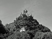 Europe Drawings - Cochem in Profile by Joseph Hendrix