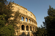 Amphitheater Framed Prints - Coliseum. Rome Framed Print by Bernard Jaubert