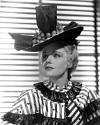 Venetian Blinds Prints - Come And Get It, Frances Farmer, 1936 Print by Everett