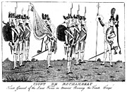 Sword Cartoon Prints - Comte De Rochambeau Print by Granger