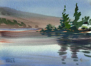 Crystal Painting Prints - Crystal Springs Print by Donald Maier