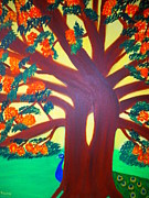 Preethy PS - Dancing tree