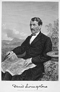 Autograph Framed Prints - David Livingstone Framed Print by Granger