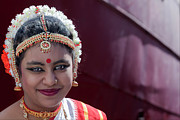 South Street Seaport Photos - Depavali Festival South Street Seaport NYC 10 02 11 Young Dancer by Robert Ullmann
