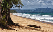 Deserted Beach In Phuket In Thailand Print by Zoe Ferrie
