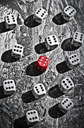 Game Photo Prints - Dice Print by Joana Kruse