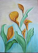 Featured Reliefs Originals - 3-dimensional Relief Painting by Prity Jain