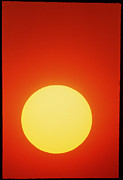 Whole Sun Art - Disc Of The Sun At Sunset by David Nunuk