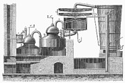 Winemaking Photos - DISTILLERY, 19th CENTURY by Granger