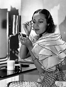 Puffed Sleeves Prints - Dolores Del Rio, Ca. 1930s Print by Everett