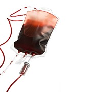 Blood Art - Donated Blood by