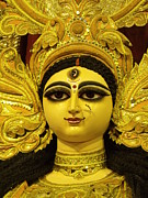 Goddess Durga Photos - Durga Goddess 2012 by Rajan Advani