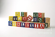 Disability Posters - Dyslexia Poster by Photo Researchers, Inc.