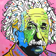 Einstein Prints - Einstein Print by Dean Russo