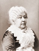 Activists Framed Prints - Elizabeth Cady Stanton 1815-1902 Framed Print by Everett
