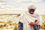 Selling Photos Buying Photos Online Prints - Ethiopian Jews in art Print by Benny  Woodoo