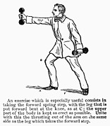 Weightlifter Prints - EXERCISE, 19th CENTURY Print by Granger