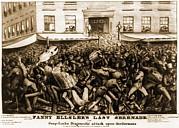Fanny Elssler 1810-1884, Austrian Print by Everett