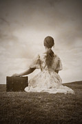 Suitcase Prints - Farewell Print by Joana Kruse