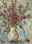 South Of France Painting Originals - Floral by Frederic Payet