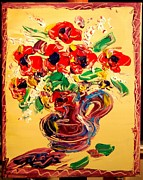 Europe Posters Paintings - Floral by Mark Kazav