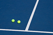 Tennis Ball Prints - Florida Gold Coast Resort Tennis Club Print by ELITE IMAGE photography By Chad McDermott