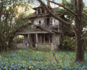 Abandoned Farm House Posters - Forget-Me-Not Poster by Doug Kreuger