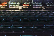 Empty Chairs Framed Prints - Fort Worth Stockyards Coliseum Seating Framed Print by Jeremy Woodhouse