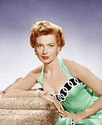 1950s Fashion Photo Posters - From Here To Eternity, Deborah Kerr Poster by Everett