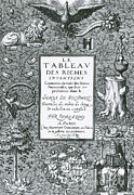 Book Title Art - Frontispiece Of Alchemical Treatise by Science Source