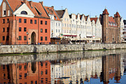 Travel Sightseeing Prints - Gdansk Old Town Print by Artur Bogacki