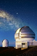 Hawai Prints - Gemini North Telescope, Hawaii Print by David Nunuk