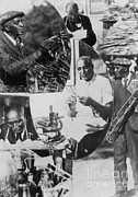 George Washington Carver Metal Prints - George W. Carver, African-american Metal Print by Science Source