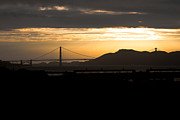 Golden Gate Bridge Acrylic Prints - Golden Gate Acrylic Print by Ralf Kaiser