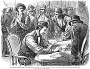 Bayonet Prints - Great Railroad Strike, 1877 Print by Granger