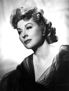 Garson Framed Prints - Greer Garson, Ca. 1940s Framed Print by Everett