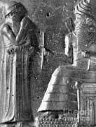 Babylonian Photos - Hammurabi, Babylonian King And Lawmaker by Photo Researchers