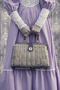 Period Framed Prints - Handbag Framed Print by Joana Kruse