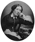 Harriet Prints - Harriet Beecher Stowe, American Print by Photo Researchers