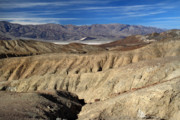 Scenic Drive Framed Prints - Harsh landscape of Death Valley Framed Print by Pierre Leclerc